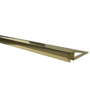 Профиль Butech Pro-Part Gloss Polished Brass 8x12.5x2500
