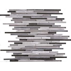 Fusion Ministrip Steel Mix 30x30x0,8