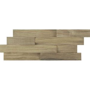Wood Wall Chrome 60x24x0,5-3
