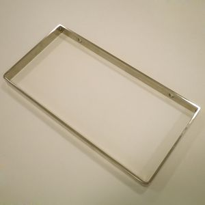 Base Estante Modul Doble Inox Brillo